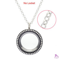 Cheap Wholesale-Fashion width 2.5mm 20'' Stainless steel round pearl shape chain for floating charm glass living locket,no locket pendant
