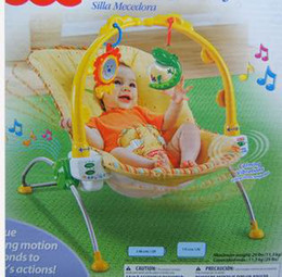Wholesale Music comfort adjustable seat vibration shaking baby rocking chair