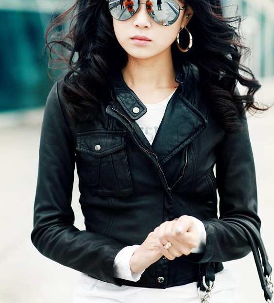 Womens leather bomber jacket sale – Your jacket photo blog
