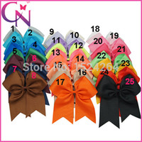 cheer bow holder - pieces Large Cheer Bow With Elastic Band Cheerleading Hair Bow Cheer Bow Ponytail Hair Holder For Girls