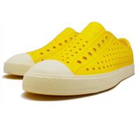garden clogs shoes - Hole Garden Shoes Beach Sandals Couple Breathable Casual Summer Zapatos EVA Clogs For Women And Men