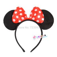Шапка Минни Маус Minnie Mouse  Шапочки и панамки