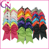 cheer bow holder - quot Rhinestone Cheer Bow With Elastic Band Girl Cheerleading Hair Bow Rhinestone Ponytail Holder For Girl
