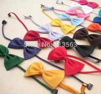 Wholesale Multicolor Dog neck tie Dog bow tie Cat tie Pet grooming Supplies Pet headdress Bowtie ncektie