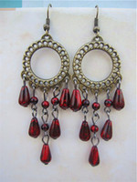 Wholesale NEW Vintage Antique Dangle Earring perfect Handmade High polished bead hotsale
