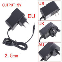 Wholesale Pieces V Android Tablet PC Charger for Allwinner A13 Q88 Sanei Flytouch Cube U18GT2 mm Port Tablet PC