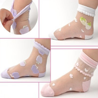 Wholesale retail pairs baby girl socks girl children sock with strawberry MIX colors in summer