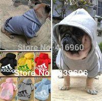 Оптово-Высокое качество для собаки кошки Pet Puppy Одежда / Одежда для животных Одежда Теплые пальто толстовки свитера футболки
