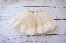 2017 faldas para las muchachas de los niños prendas de vestir tutus bebé faldas de encaje niñas tutús de ballet de encaje faldas de baile para niños para niños envío al por mayor-Libre faldas para las muchachas de los niños promoción