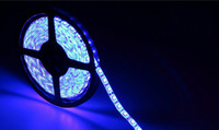 Wholesale Color Led Strip Water Proof - Wholesale-5m rgb LED strip 3528 SMD 12V 60 led m,6 color fita LED light non-water proof ws2812b Home Decoration Lamps lights & lighting