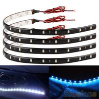 Wholesale cm SMD LED Car Trucks Motor Grill Flexible Waterproof Light Strips S94