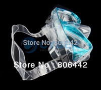 Wholesale Cheap Scuba Diving Snorkeling Silicone Mask Dive Equipment Set Blue TK1081