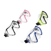 Wholesale Scuba Diving Mask High quality Goggles Swimming Diving Snorkeling Equipment mm Toughened Tempered Glass diving equipment