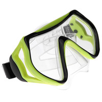 Wholesale Scuba mm Toughened Tempered Glass Diving Mask Goggles Swimming Diving Snorkeling Equipment Full Dry Snorkel Set Colors