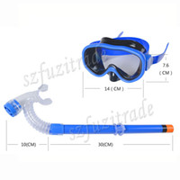 Wholesale New Children Kids Swimming Swim Gear Scuba Anti Fog Goggles Mask Dive Diving Glasses Snorkel Vintage Gift AHA00143