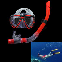 Wholesale funny Apparatus diving Fishing Swimming Diving Equipment Dive Mask Dry Snorkel Set