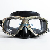 auto snorkel - NEW at promotion silicon Mask Scuba Pro Free Diving Spear fishing auto buckle