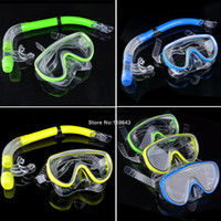 Wholesale High Quality Scuba Diving Mask Swimming Pool Diving Equipment Anti Fog Goggles Snorkeling Gear Glasses Colors b7 SV007075