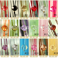 Wholesale New Drop Beaded String Door Window Curtain Divider Room Blind Tassel Fly Screen