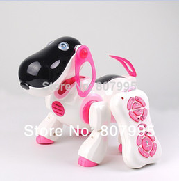 Wholesale Smart Dog Infrared - Wholesale- New Arrival Smart Toy Dog Infrared Remote Control Series High Quality Cute Dog remote control toys classic toys