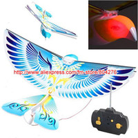 rc bird - Blue MHz Flying E Bird RC Toy RC Bird Remote Control Bird Quality assurance Great gift for Kids