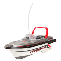 best remote control boat - Best selling Red Radio RC Remote Control Super Mini Speed Boat Dual Motor Kids Toy best sale I eat