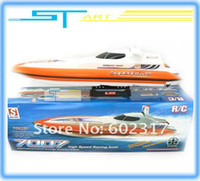 air cooled boat motors - Biggest DH7007 Air Cooled cm Remote Control RC Racing Speed Boat FLY FISH Rc Twin Motor Boat Ready to Win supernova sale