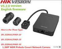 atm network - ATM in stock m Hikvision DS CD6412FWD quot network WDR pinhole camera tube network camera ip camera