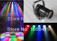 Wholesale RGBW Black cover W Cree lamp in1 LED Pinspot Light DMX control LED Rain stage light