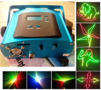 animation mini stage - Full color DIY Mini Programmable Laser stage Lights With DIY software G SD Card RGB Animation disco KTV bar home party lighting