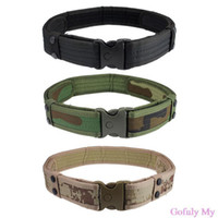 Wholesale New Woodland Camo Waistband Tactical Hunting Outdoor Sports Field Belt Free shippng amp
