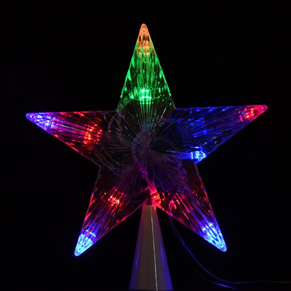 Wholesale led indoor outdoor christmas tree topper star