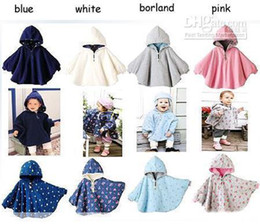 Wholesale 2016 Baby reversible cloak kids Y warm mantle Combi hot Girl outerwear colors mixed