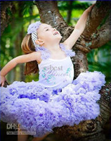 baby Tutu skirt purple kid pettiskirts children tutu free sh...