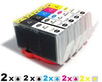 Wholesale 10 ink cartridge for HP XL B8553 B209 C309a B8550 B8558B8500 C5324 hp364 hp364XL HP564 HP364