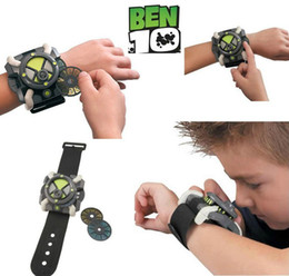 Wholesale-New Cartoon BEN 10 Force ULTIMATE OMNITRIX Watch ben10 Children toys as Gifts Free Shipping