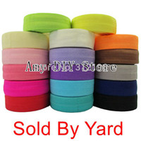 . . Animal Wholesale-Free Shipping 10 yards lot 40 Colors Fold Over Elastic 5 8 Inch FOE Girl DIY Accessories Stretchy Shiny Band Selling By Yard