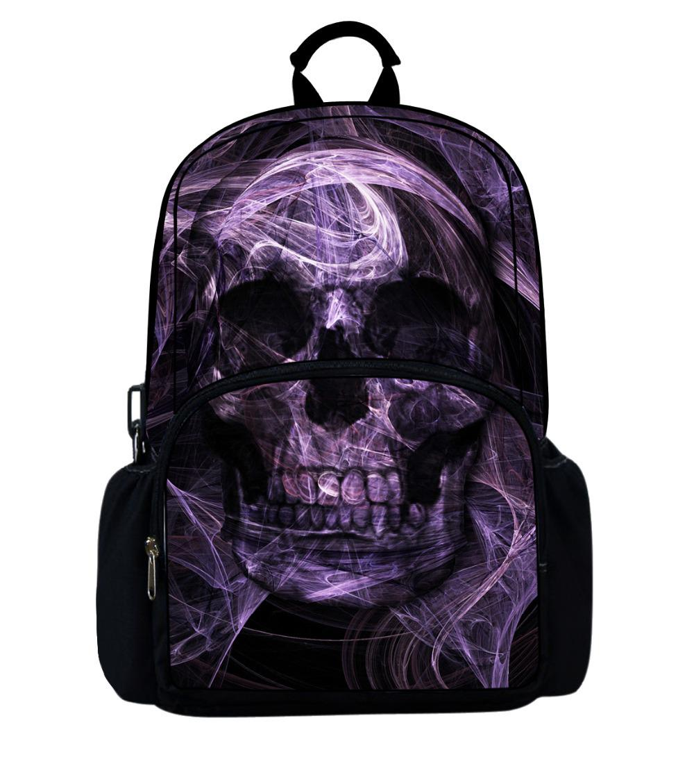 dbbdae97bde6 Wholesale-Fashion Skull Children s Bags for Boys Gifts