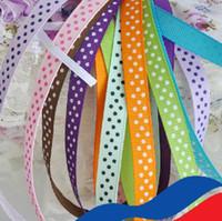 dot ribbon - Brand new quot mm Polka Dots or Swiss Dots Center Dot Dippy Dots Candy Dot Grosgrain Ribbon