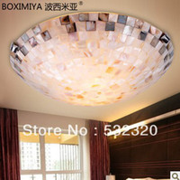 antique china lamp - Home Lighting Bohemia Lamps Antique Tiffany Lamp Sea Shell Ceiling Lights For Livign Room Fast Delivery From China