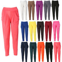 Wholesale New Ladies Fashion Casual Harem Baggy Dance Sport Sweat Pants Trousers Slacks