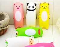 ball mouse pads - Memory Foam Lovely Cartoon Animal Mouse Cuffs Pad Mouse Hand Pillow Mouse Wrist Pad random color
