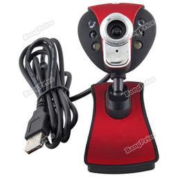 Wholesale bestseller best USB LED Mega Clip WebCam Web Camera w MIC Microphone for Laptop PC for yourself