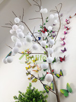 . auto thailand - Funlife cm Each x White Cotton Ball Lighting String Thailand Style Hand Made Lantern for Holiday Party Decoration N1078W