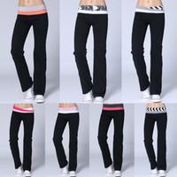 Cheap yoga pants size xs - Wholesale-Women Pants Sale Overall New Arrival Lulu Yoga Groove Pants for Women girls Yoga Harem pants Model Size xxs-xl