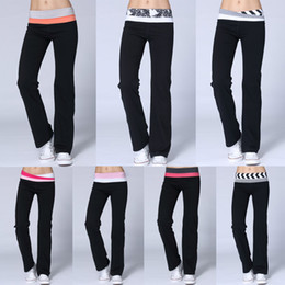 Wholesale Women Pants Sale Overall New Arrival Lulu Yoga Groove Pants for Women girls Yoga Harem pants Model Size xxs xl