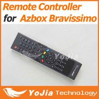 Wholesale pc Remote Control for AZbox Bravissimo satellite receiver RC remote controller bravissimo post