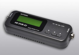 Wholesale Original Sathero Pocket Digital Satellite Finder Meter SH HD HD DVBS2 USB Signal Digital Sat Finder HD post