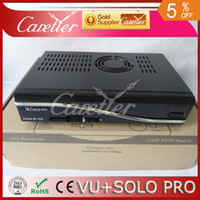 Wholesale pc in stock digital receiver linux vu solo pro with chipset BCM7325 linux vu solo pro