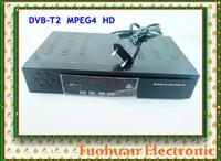 Cheap Wholesale-DVB-T DVB-T2 MPEG-2 MPEG 4 H.264 HD Digital Terrestrial Receiver TV Receiver DVB T2 Tuner Support USB HDMI RCA for EUROPE RUSSIA